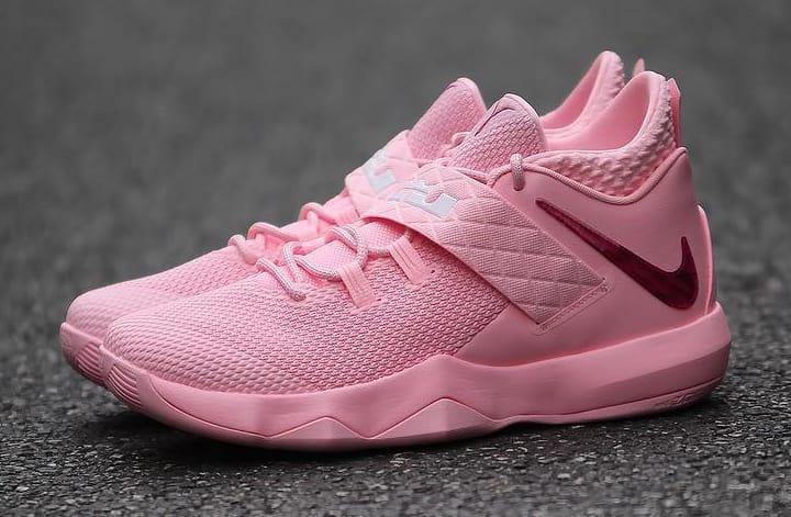 詹皇的粉色球鞋!Ambassador 10 近期发售!